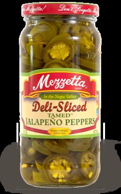 Preserved Peppers, Mezzetta® Jalapeño Peppers (16 oz Jar)