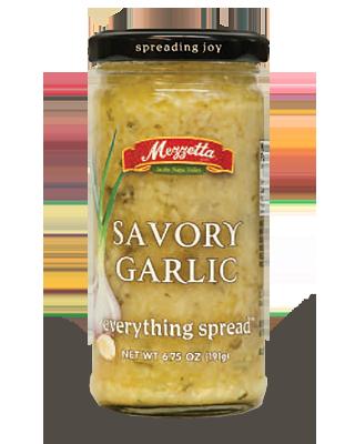 Spread, Mezzetta® Savory Garlic, 6.5 oz Jar