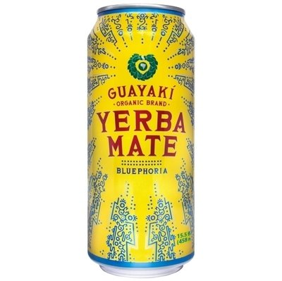 Energy Drink, Guayaki® Yerba Mate, Bluephoria (15.5 oz Can)