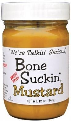 Mustard, Bone Suckin' Sauce® Sweet Hot Mustard (16 oz Jar)