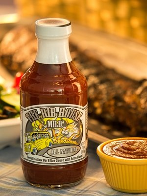 BBQ Sauce, The Rib House® Mild (18 oz Bottle)
