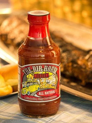 BBQ Sauce, The Rib House® Medium BBQ Sauce (18 oz Bottle)