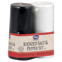 Combo Seasonings, Kroger® Salt and Pepper (Two Shakers)