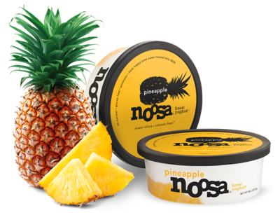 Yogurt, Noosa® Pineapple (8 oz Tub)