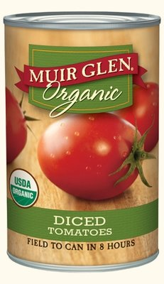 Canned Tomato, Muir Glen® Organic, Diced Tomatoes, 14.5 oz Can