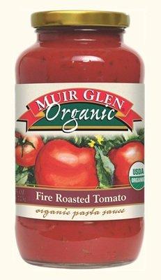 Pasta Sauce, Muir Glen® Organic Fire Roasted Tomato Pasta Sauce (25.5 oz Jar)