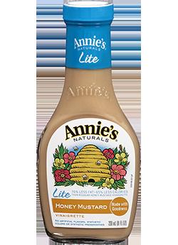 Salad Dressing, Annie's® Honey Mustard Vinaigrette Dressing, Lite (16 oz Bottle)