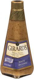 Salad Dressing, Girard's® White Balsamic Vinaigrette Salad Dressing (12 oz Bottle)