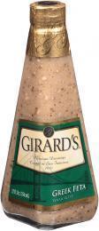 Salad Dressing, Girard's® Greek Feta Vinaigrette Salad Dressing (12 oz Bottle)