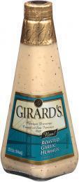 Salad Dressing, Girard's® Roasted Garlic Hummus Vinaigrette Salad Dressing (12 oz Bottle)