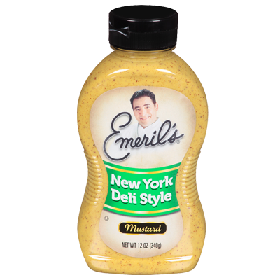 Mustard, Emeril's® New York Deli Style Mustard (12 oz Bottle)