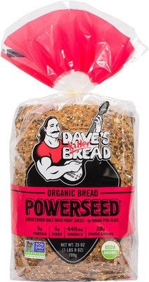 Loaf Bread, Dave's Killer Bread® Power Seed (25 oz Bag)
