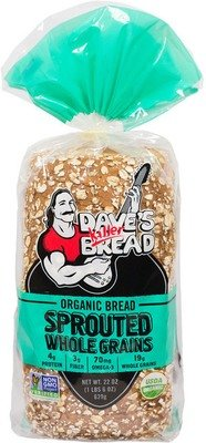 Loaf Bread, Dave's Killer Bread® Sprouted Whole Grains (24 oz Bag)