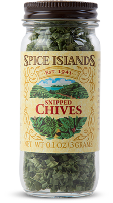 Seasonings, Spice Islands® Snipped Chives (.1 oz Jar)