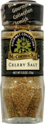 Seasonings, McCormick Gourmet® Celery Salt (2.5 oz Jar)
