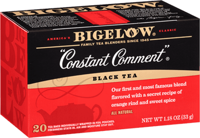 Tea, Bigelow® Black Tea, Constant Comment® 1.28 oz Box (20 Bags)