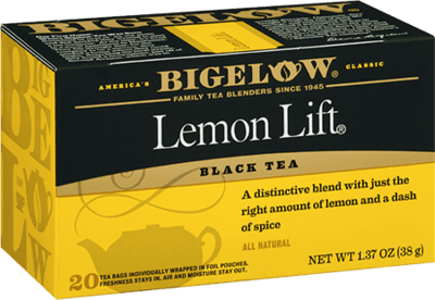 Tea, Bigelow® Black Tea, Lemon Lift® 1.37 oz Box (20 Bags)