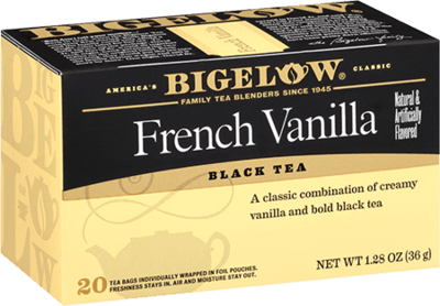Tea, Bigelow® Black Tea, French Vanilla® 1.28 oz Box (20 Bags)