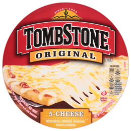 Frozen Pizza, Tombstone® 5 Cheese Pizza (19.8 oz Box)