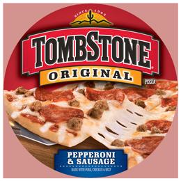 Frozen Pizza, Tombstone® Pepperoni & Sausage Pizza (20.6 oz Box)