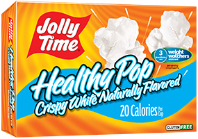 Microwave Popcorn, Jolly Time® Healthy Pop, Crispy White, 9 oz. Box (3 Bags)