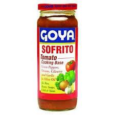 Tomato, Goya® Sofrito, Tomato Cooking Base (12 oz Jar)