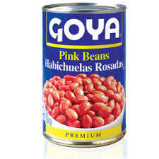 Canned Pink Bean, Goya® Pink Beans (15.5 oz Can)