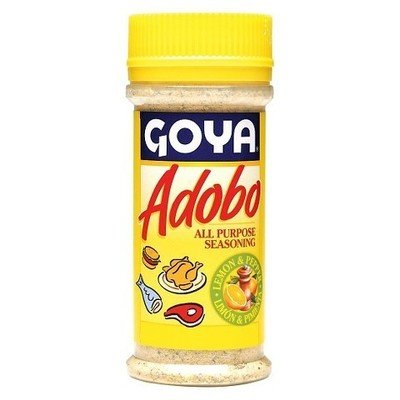 Seasonings, Goya® Adobo, Lemon and Pepper Seasoning, 8 oz Bottle