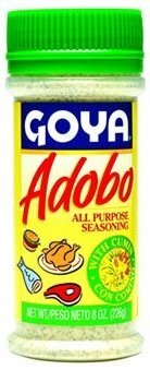 Seasonings, Goya® Adobo, Pepper Seasoning with Cumin, 8 oz Bottle