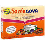 Seasonings, Goya® Coriander and Annatto Seasoning, 1.4 oz Box