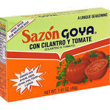 Seasonings, Goya® Cilantro and Tomato Seasoning, 1.4 oz Box