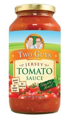 Pasta Sauce, Two Guys® Jersey Basil Tomato Sauce (24 oz Jar)