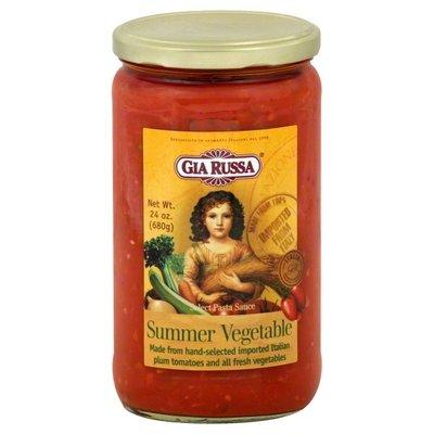 Pasta Sauce, Gia Russa® Spicy Summer Vegetable Pasta Sauce (24 oz Jar)