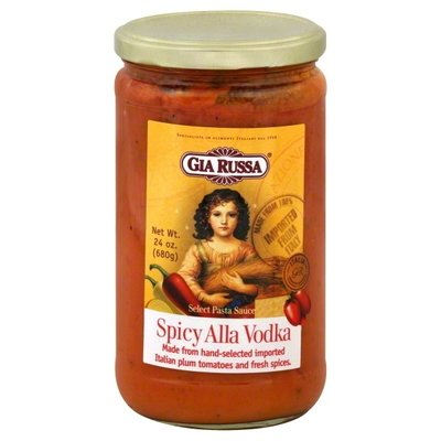 Pasta Sauce, Gia Russa® Spicy Alla Vodka Pasta Sauce (24 oz Jar)