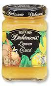 Curd, Dickinson's® Lemon Curd, 10 oz Jar