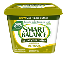 Butter, Smart Balance® Lactose Free Olive Oil Buttery Spread (15 oz Tub)
