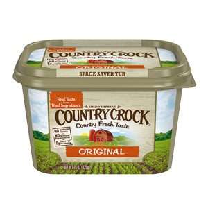 Butter, Country Crock® Original Buttery Spread (45 oz Tub)