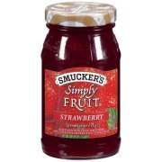 Fruit Spread, Smucker's® Simply Fruit Strawberry Spread (10 oz Jar)
