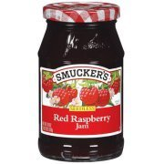 Fruit Spread, Smucker's® Seedless Red Raspberry Jam (18 oz Jar)