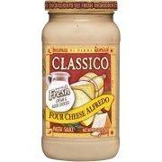Alfredo Pasta Sauce, Classico® Four Cheese Alfredo Pasta Sauce (15 oz Jar)
