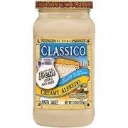 Alfredo Pasta Sauce, Classico® Light Creamy Alfredo Pasta Sauce (15 oz Jar)