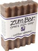 Soap, Zum Bar® Coffee-Almond Goats Milk Soap (3 oz Bar)