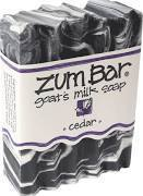 Soap, Zum Bar® Cedar Goats Milk Soap (3 oz Bar)
