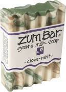 Soap, Zum Bar® Clove-Mint Goats Milk Soap (3 oz Bar)