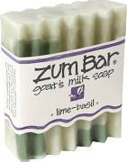 Soap, Zum Bar® Lime-Basil Goats Milk Soap (3 oz Bar)