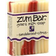 Soap, Zum Bar® Sandalwood-Citrus Goats Milk Soap (3 oz Bar)
