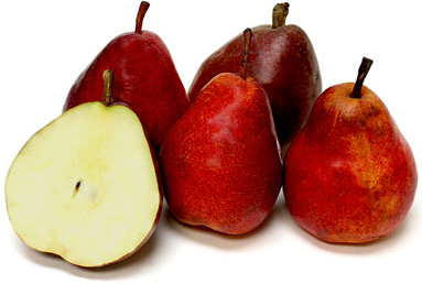 Fresh Fruit, Pears, Organic Red Anjou Pears (Priced Each)