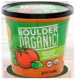Fresh Organic Soup, Boulder Organic® Organic, Tomato Basil Soup (24 oz Cup)