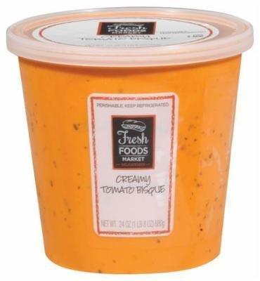 Fresh Soup, Fresh Foods Market® Tomato Bisque Soup (24 oz Cup)