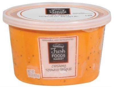 Fresh Soup, Fresh Foods Market® Tomato Bisque Soup (15 oz Cup)